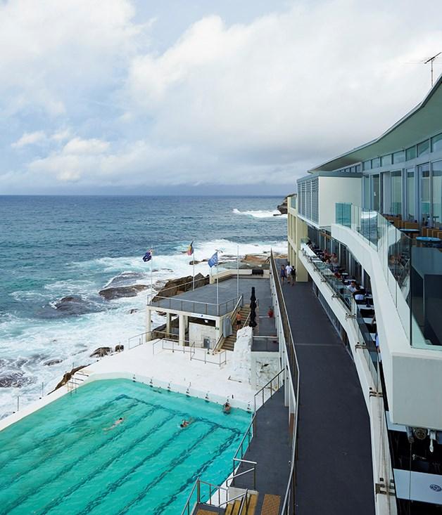 **** Icebergs Dining Room & Bar overlooking Bondi Beach.