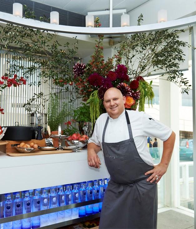 ****  Icebergs Dining Room & Bar chef Monty Koludrovic.
