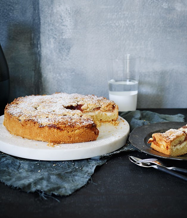 **Fig jam and ricotta torta**
