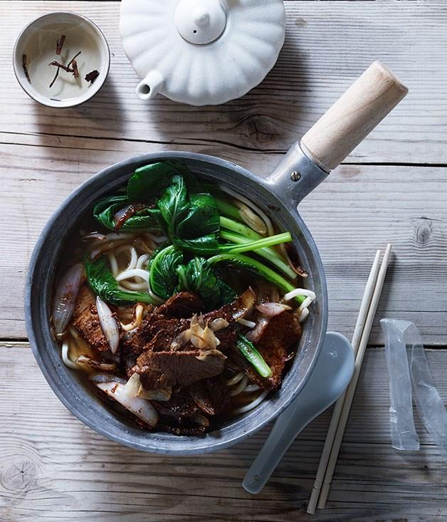 "[Xinjiang-style noodle soup](https://www.gourmettraveller.com.au/recipes/browse-all/xinjiang-style-noodle-soup-11723|target=""_blank"")"