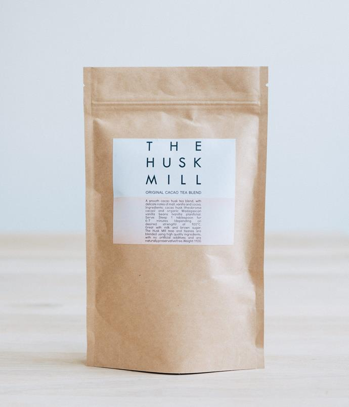 **The Husk Mill teas (original cacao tea blend, 110gm bag)** The Husk Mill make caffeine- and preservative-free teas from cacao bean husks sourced from within Australia and blended in Newtown, Sydney. Perfect on a cold night, the taste of Husk Mill's original cacao blend lies somewhere between a piece of dark chocolate and a sweet vanilla tea. _$23, [thehuskmill.com](http://www.thehuskmill.com.au/shop/original-cacao-tea-blend-110g)_