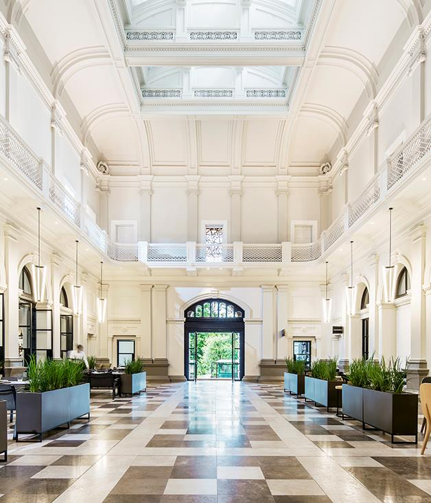 "**Hotel of The Year: Como The Treasury, WA** There's much to admire in this extraordinary reimagining of three colonial-era buildings by celebrated Perth architect Kerry Hill. The restrained elegance of Como The Treasury's 48 rooms and suites; the uplifting beauty of its grand public spaces; the sophisticated service; the eight eateries and bars including Thai masterchef David Thompson's Long Chim. A great Australian hotel is born. [comohotels.com](http://www.comohotels.com/thetreasury ""Como"")  Finalists: The Langham Sydney, NSW; The Old Clare Hotel, NSW."