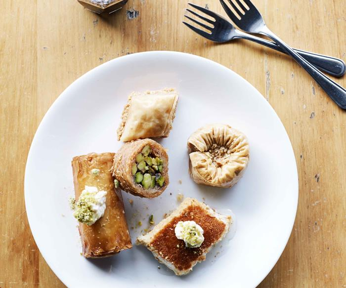 Lebanese pastries from Balha's Pastry