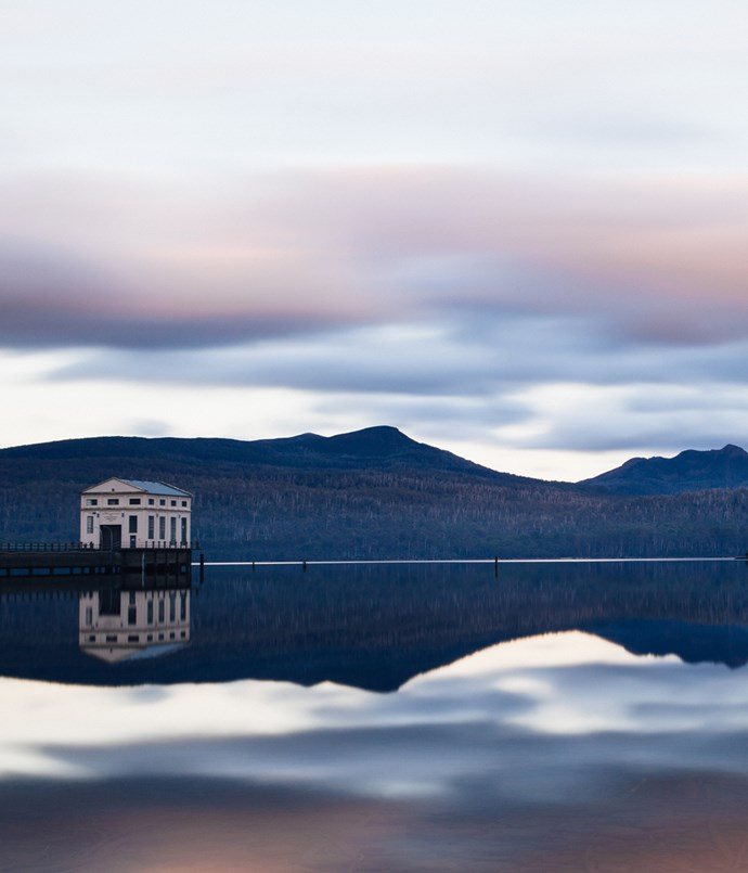 "**Pumphouse Point, TAS** Nature is the ultimate luxury at Pumphouse Point. Hovering atop Australia's deepest lake and surrounded by World Heritage wilderness, you can watch a platypus surfacing outside your window, or the sunset flaring over the lake as you savour a Tasmanian pinot by a log fire. Room fridges are stocked with local produce, such as seafood chowder and fine cheeses, and fresh-baked bread is only a call-to-reception away.  _Pumphouse Point, 1 Lake St Clair Rd, Lake St Clair, TAS, [pumphousepoint.com.au](http://www.pumphousepoint.com.au ""Pumphouse Point"")_"