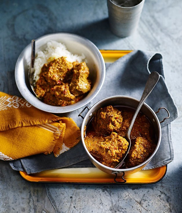 "[**Beef rendang**](https://www.gourmettraveller.com.au/recipes/browse-all/beef-rendang-14212|target=""_blank"")"