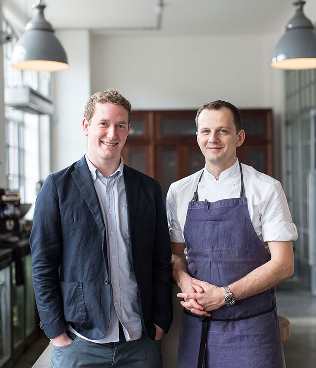 **Lyle's, Hackney** Lyle's co-owners, John Ogier (left) and James Lowe.  _Tea Building, 56 Shoreditch High St, Hackney, +44 203 011 5911, [lyleslondon.com](/lyleslondon.com)_