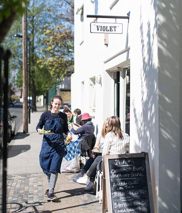 **Violet, Hackney** Violet exterior.  _47 Wilton Way, Hackney, +44 207 275 8360, [violetcakes.com](/violetcakes.com)_