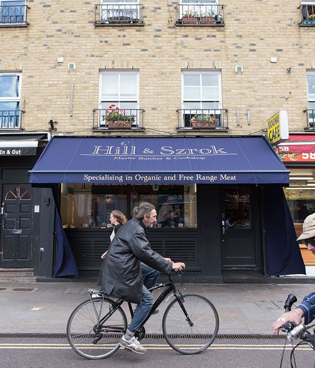 **Hill & Szrok, Hackney** Hill & Szrok, specialising in Organic and Free Range Meat.  _60 Broadway Market, Hackney, +44 207 254 8805, [hillandszrok.co.uk](/hillandszrok.co.uk)_