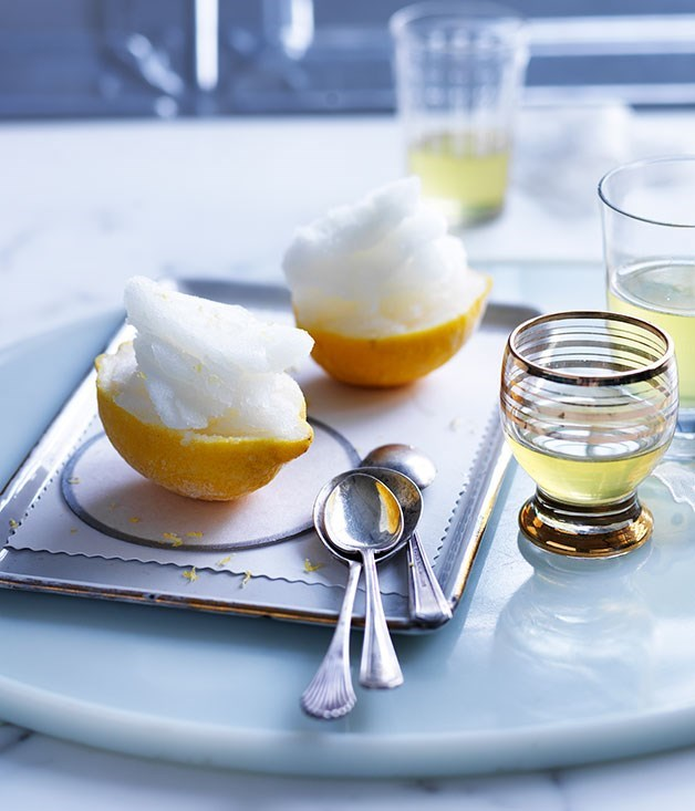 **Lemon sorbetto**