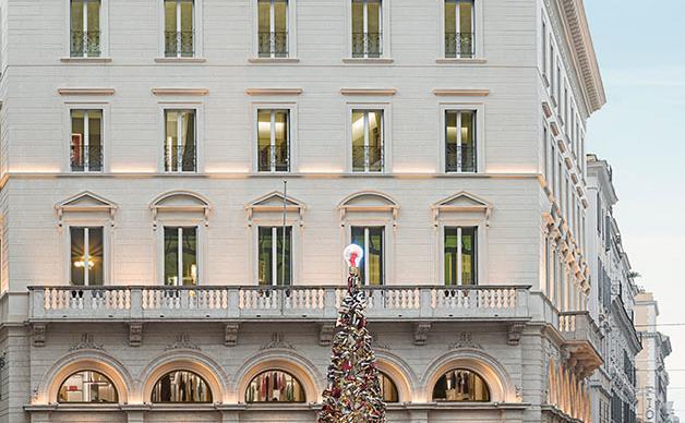 Fendi opens elegant suites in Rome