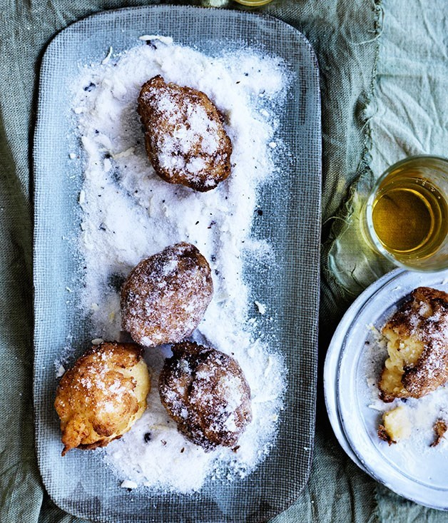 "[**Lemon custard fritters**](https://www.gourmettraveller.com.au/recipes/browse-all/lemon-custard-fritters-12313|target=""_blank"")"