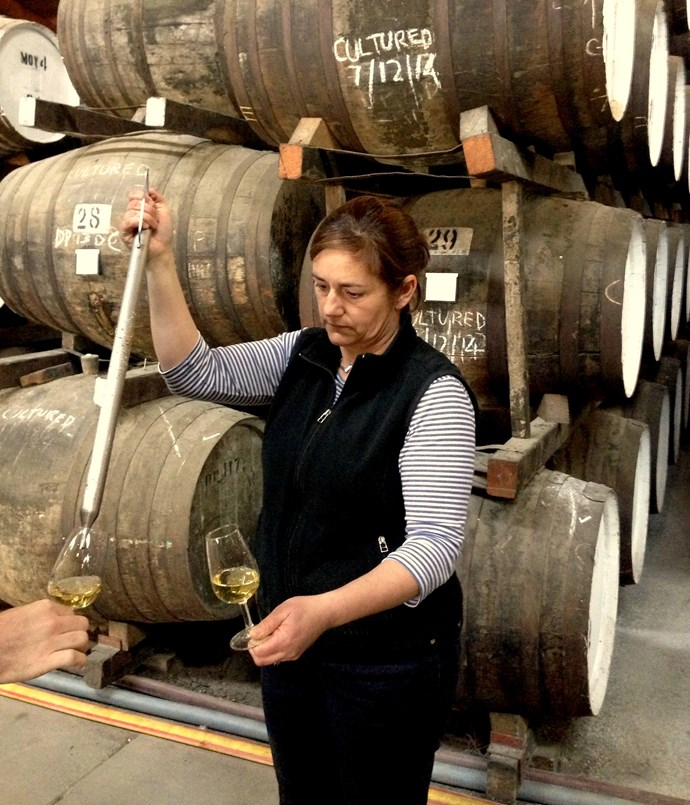 Winemaker Fiona Donald at Seppeltsfield