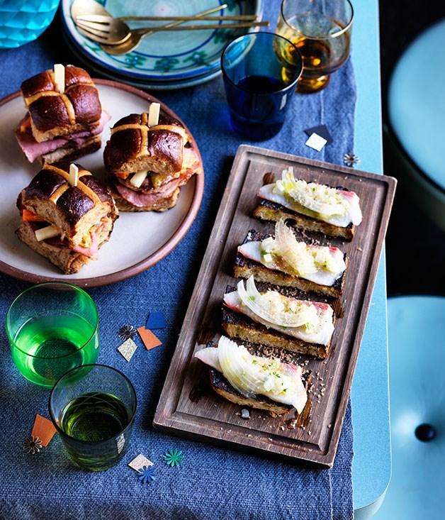 "**[Bodega's fish fingers](https://www.gourmettraveller.com.au/recipes/chefs-recipes/bodegas-fish-fingers-8447 target=""_blank"")**"