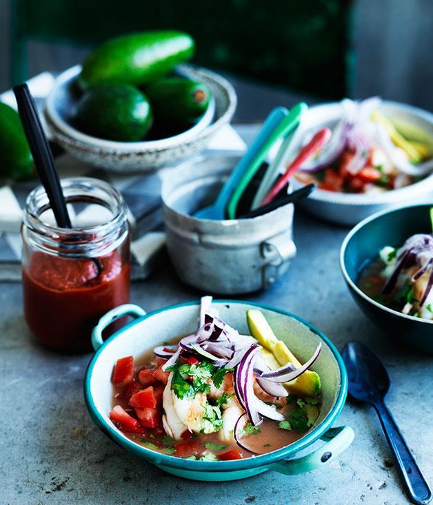 "**[Ceviche en carretas](http://www.gourmettraveller.com.au/recipes/browse-all/ceviche-en-carretas-12556|target=""_blank"")**"