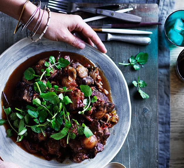Braised oxtail