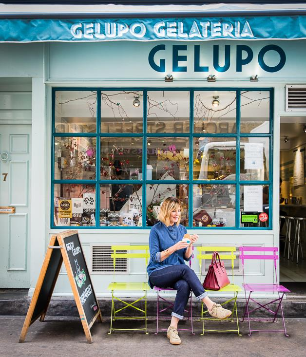 "**Skye Gyngell at Gelupo** ""When it comes to indulging a sweet tooth in London, I head straight to Gelupo for their sour cherry and ricotta gelato.""  _Gelupo, 7 Archer St, Soho, +44 (0) 207 287 5555, [gelupo.com](http://gelupo.com/)_"