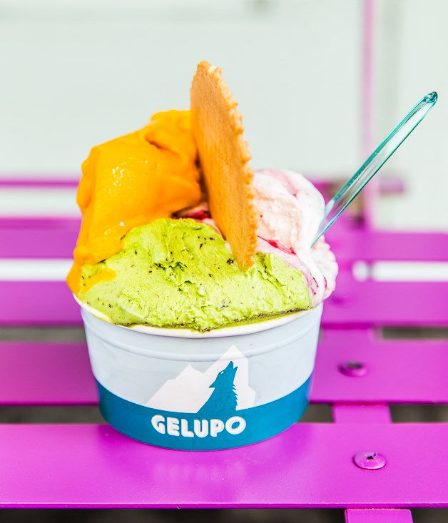 "**Gelupo** ""When it comes to indulging a sweet tooth in London, I head straight to Gelupo for their sour cherry and ricotta gelato.""  _Gelupo, 7 Archer St, Soho, +44 (0) 207 287 5555, [gelupo.com](http://gelupo.com/)_"