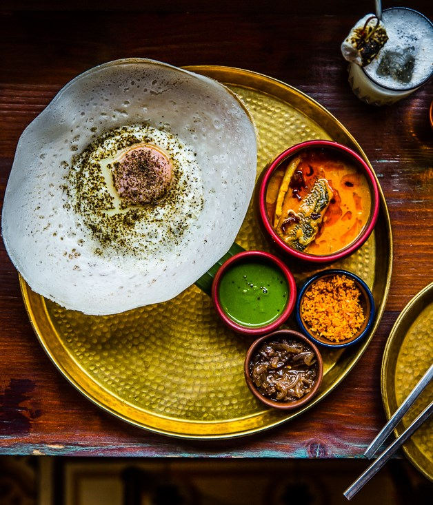 "**Hoppers** ""For lunch, Hoppers in Frith Street, Soho is delicious. It's Sri Lankan small plates, noisy, busy and completely addictive.""  _Hoppers, 49 Frith St, Soho, [hopperslondon.com](https://www.hopperslondon.com/)_"