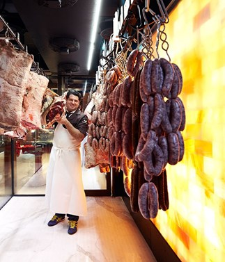 Which  meats do Australia's best butchers cook in winter?