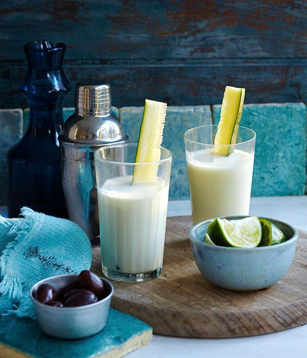 **1806's Eros Gin Fizz** Gin and yoghurt: a surprisingly effective combination in this twist on a classic.