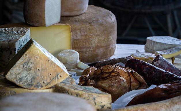 Nimbin Valley Dairy's true-blue cheese
