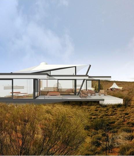 Longitude 131's new Dune Pavilion