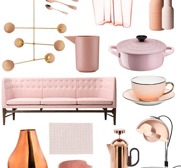 Kitchen trends: pretty in pink