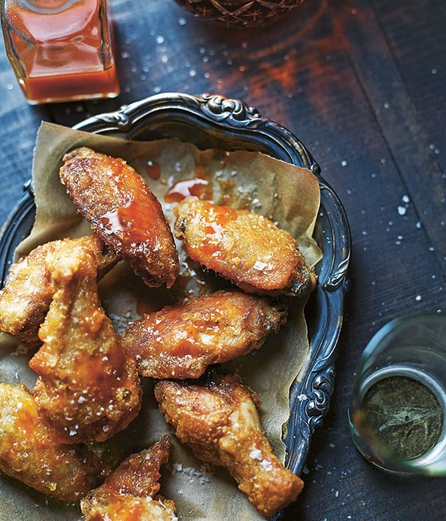 **Smoked chicken wings**