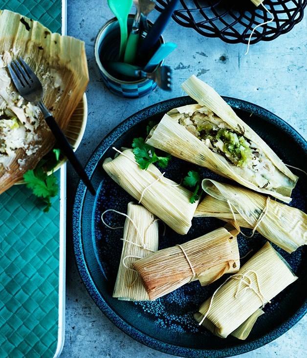 **Chicken tamales**