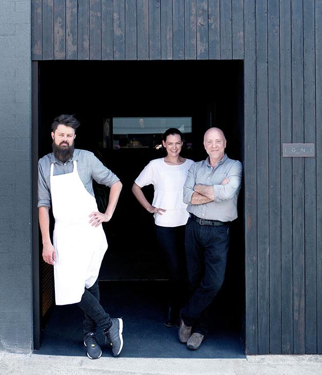 **Regional restaurant of the year** [Igni, Geelong](http://www.gourmettraveller.com.au/restaurants/restaurant-reviews/2016/4/igni-melbourne-review/)  It may seem odd to consider a restaurant in a gritty urban location free of trees and views regional, but Igni's focus on produce from the fertile farmlands, bays and ocean of its Geelong home make it not only regional but one of the best in show. Chef Aaron Turner grew up around here and knows what's growing when and where, and transforms that seasonal bounty, often using flame and smoke, into exciting menus. The front of house team is as savvy and excited about the local stuff (wine included) as the chef.  Photography: Team Igni, by Julian Kingma