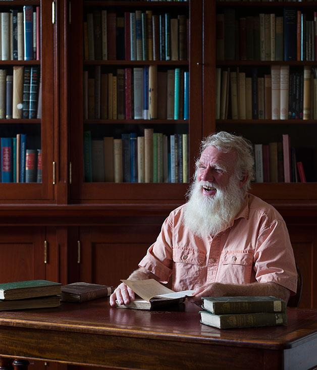 **Outstanding contribution to hospitality** Bruce Pascoe, Australian Indigenous writer  Photography: Jessica Reftel Evans and Martin Reftel  _[Read Max Allen's feature on Bruce Pascoe](http://www.gourmettraveller.com.au/recipes/food-news-features/2016/5/did-australia-invent-bread/)_