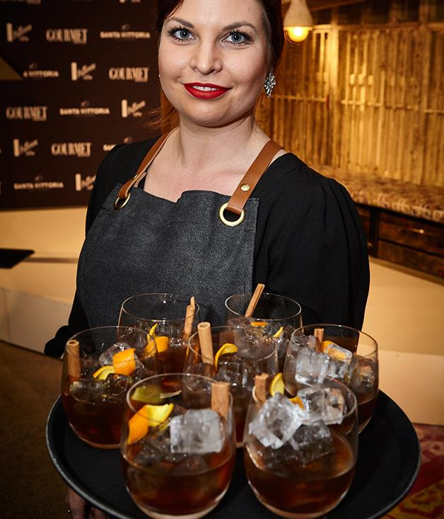 **** Singleton Spet Cascade Scotch Whisky cocktails with salted and malted syrup