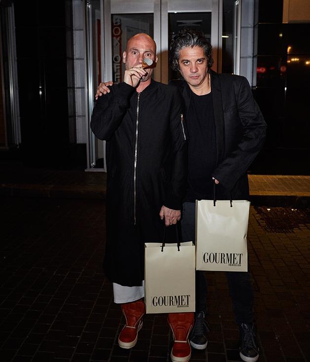 **** Maurice Terzini and Giovanni Paradiso