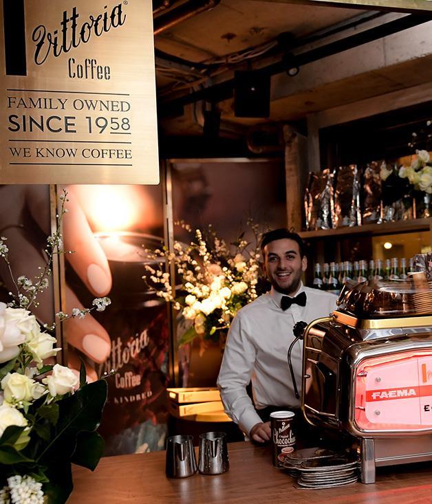 **** The Vittoria Coffee station