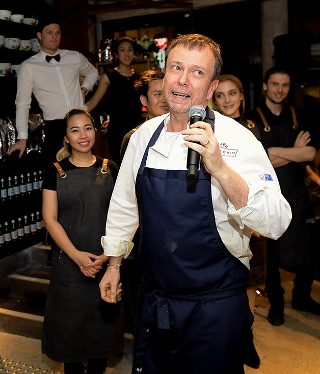 **** Long Chim's David Thompson welcomes guests