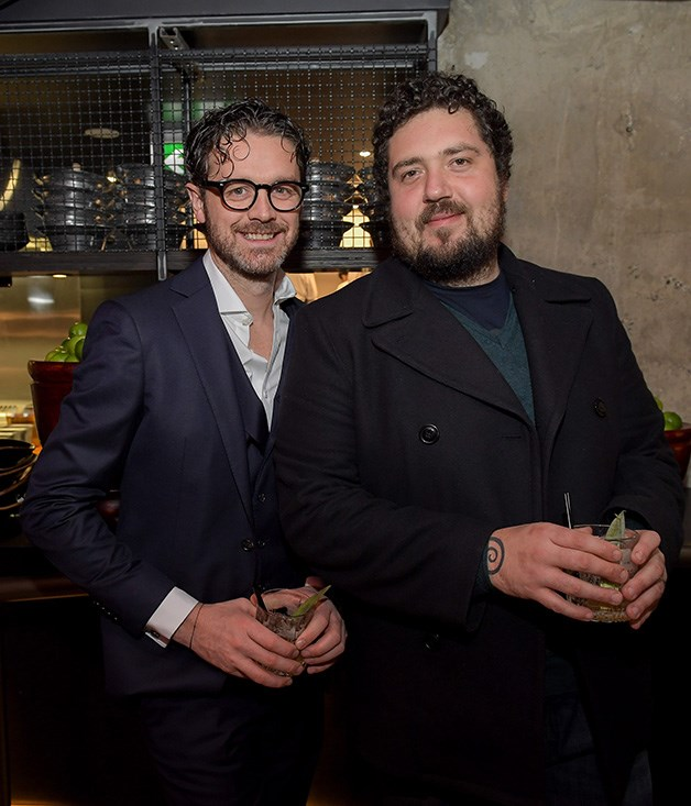 **** Orana and Blackwood chef Jock Zonfrillo and Africola's Duncan Welgemoed