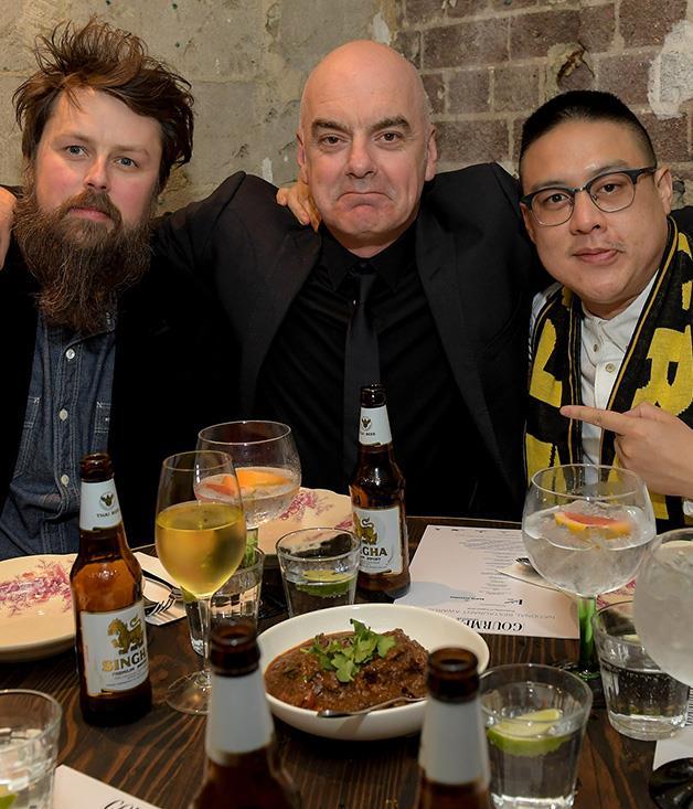 **** Igni's Aaron Turner, Pei Modern's Mark Best and Merivale chef Dan Hong sit down to feast