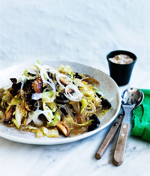 Korean stir-fried noodles