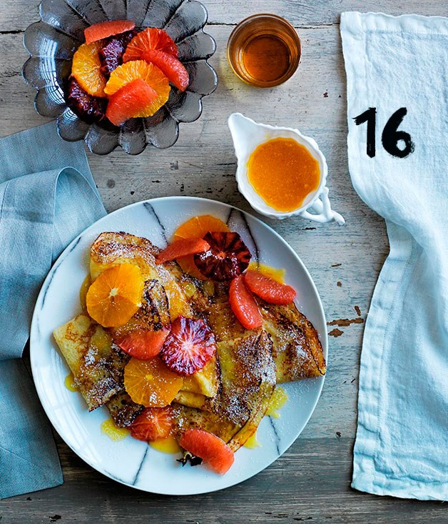 "[**Crêpes suzette**](https://www.gourmettraveller.com.au/recipes/browse-all/crepes-suzette-12361|target=""_blank"")"