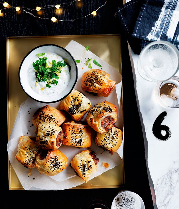 """[**Lamb and roast carrot sausage rolls**](https://www.gourmettraveller.com.au/recipes/browse-all/lamb-and-roast-carrot-sausage-rolls-14001