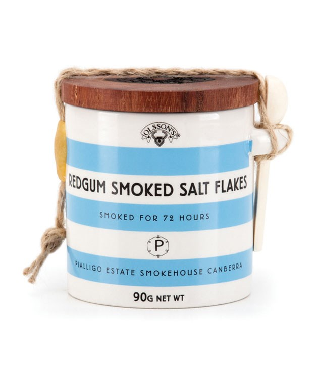 **Olsson Redgum Smoked Salt** Sprinkle it over steak, seafood or salad - this special sea salt, born of a collaboration between Olsson's and Bridge Room chef Ross Lusted is smoked over redgum for 72 hours at Pialligo Estate Smokehouse in Canberra. Fancy. _$19, [olssons.com.au](http://www.olssons.com.au/) _