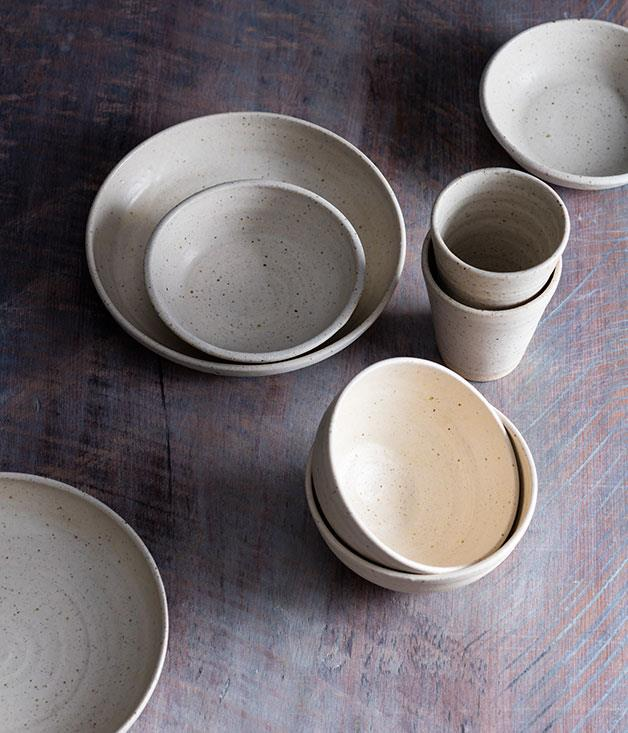**Mukumono ceramics** Mukumono ceramics balance a traditional Japanese aesthetic with a more robust and earthy Australian bent. Give your dad the same plates found at Ester, LuMi and Izakaya Fujiyama. _From $32, [mukumono.com.au](http://mukumono.com.au/)_