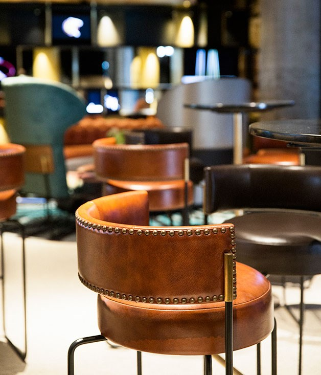**** QT Melbourne's lobby balances quirkiness with attention to detail.