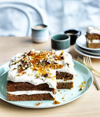 Shirni Parwana's masala carrot cake