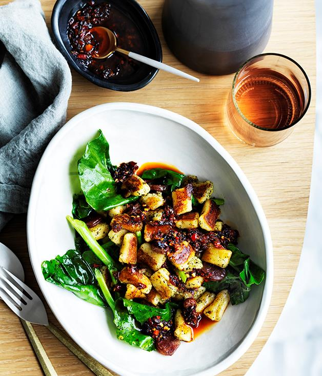 "**[Bar Brosé's gnocchi with lap cheong](https://www.gourmettraveller.com.au/recipes/chefs-recipes/bar-broses-gnocchi-with-lap-cheong-9282|target=""_blank"")**"