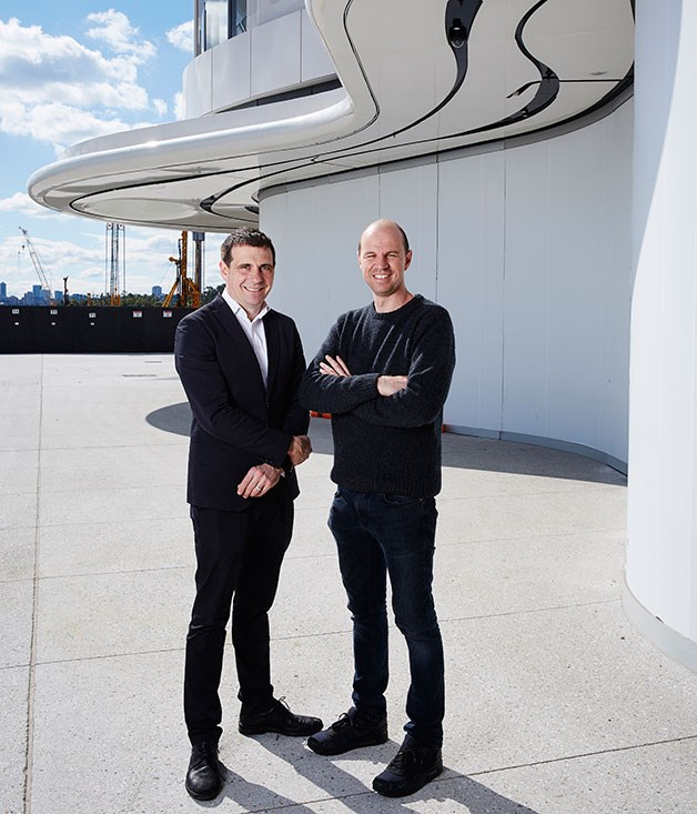 **Nick Hildebrandt and Brent Savage** Brent Savage and Nick Hildebrandt open[Cirrus at Barangaroo](http://www.gourmettraveller.com.au/restaurants/restaurant-news-features/2016/9/cirrus-the-bentley-gang-dives-into-seafood-at-barangaroo/)on Wednesday 21 September - their fourth venue after Bentley, Monopole and Yellow. Here, they talk us through some of their favourite Cirrus dishes and the inspiration behind the design.  _Cirrus, 10/23 Barangaroo Ave, Barangaroo, NSW,   (02) 9220 0111,[cirrusdining.com.au](http://www.cirrusdining.com.au/)_  Interview by Maggie Scardifield