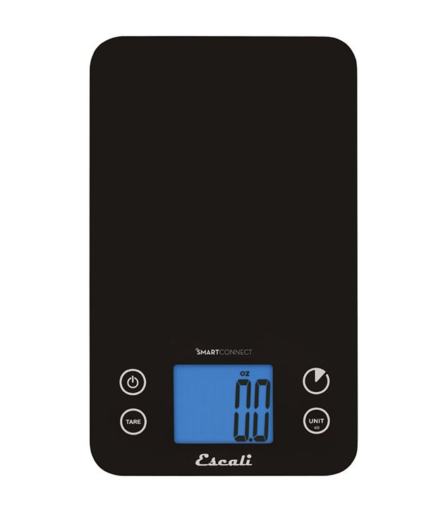**Escali Bluetooth Kitchen Scale** Measurements. Nutritional advice. Food journaling. This smart scale does it all. _$64.28; [amazon.com](https://www.amazon.com/Escali-Connect-Bluetooth-Kitchen-11-Pound/dp/B00FPYLBCC)_