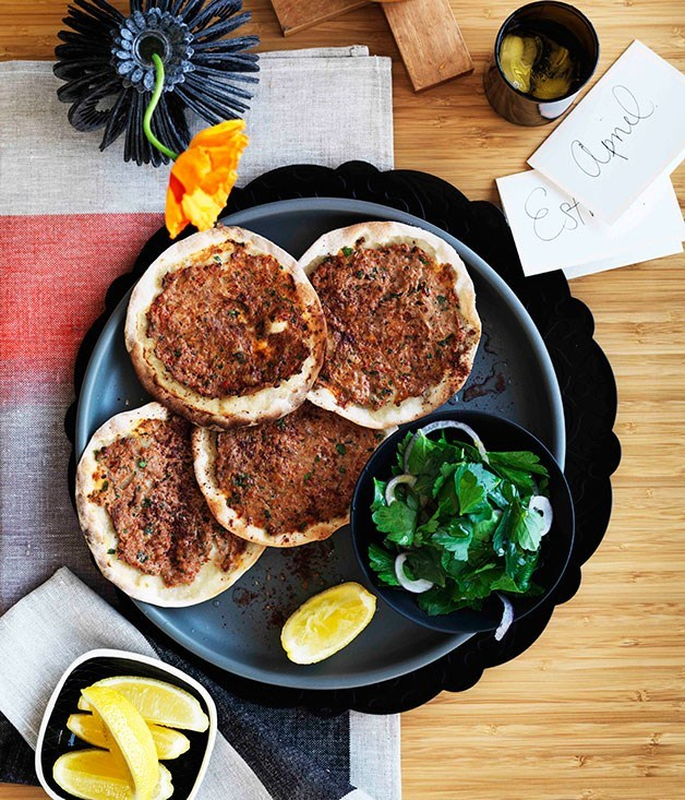 **Somer Sivrioglu's lahmacun** A staple in Turkey, Efendy's Somer Sivrioglu shares his recipe for the spicy lamb flatbread that you can find all over the country.