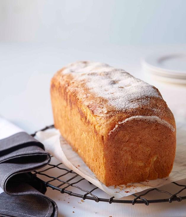 "[**Brioche loaf**](https://www.gourmettraveller.com.au/recipes/browse-all/brioche-14135 target=""_blank"" rel=""nofollow"")"