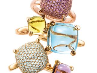 Style statement: Paloma Picasso Sugar Stacks